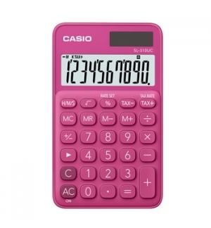 Calculadora de Bolso Casio SL310UCRD Vermelho 8 Digitos