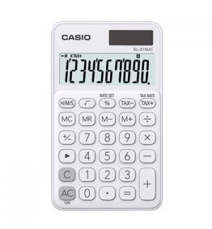 Calculadora de Bolso Casio SL310UCWE Branco 8 Digitos