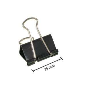 Molas para Papeis 25mm Cx 12un (2984)