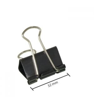 Molas para Papeis 32mm Cx 12un