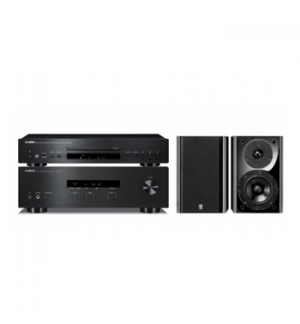 Amplificador Audio Yamaha RS-201 CD-S300 Colunas NX-E700