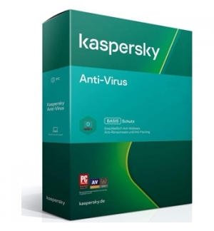 KASPERSKY Anti-Virus 1User_1Ano