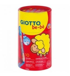 Lapis Cor Giotto Be-Be Copo 10un