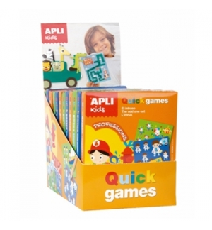 Expositor Apli Kids Quick Games 3 Temas 12un