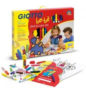 Conjunto Giotto Be-Be Colorir Stick & Color Set