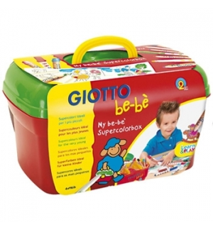 Conjunto Giotto Be-Be Colorir My Supercolorbox
