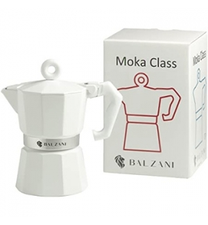 Moka Café BALZANI 3 Chávenas Branco