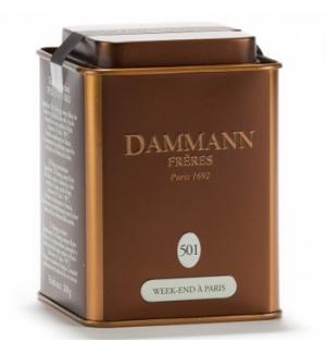 Chá Lata Week-End à Paris Nº 501 Dammann 100gr