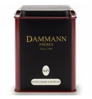 Chá Lata Oolong Caramel au Beurre Salé Nº 445 Dammann 100g