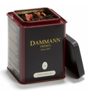 Cha Lata Quatro Frutos Vermelhos Dammann Nº4 100gr)
