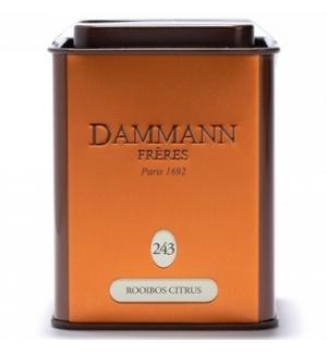 Chá Lata Rooibos Citrus Dammann Nº243 100g