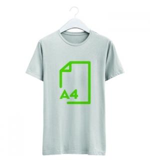 T-Shirt Transfer Laser/Copier A4 Tecidos Claros (4294) 50Fls