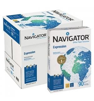 Papel Fotocopia A4 090gr Navigator  5x500Fls
