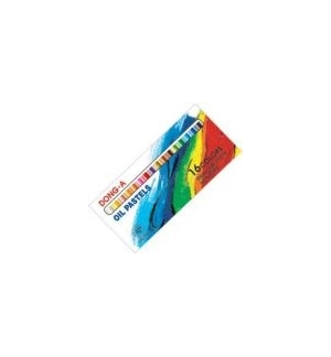 Lapis Oil Pastels Small Round Sticks 16un