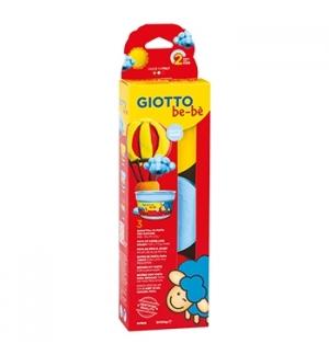 Pasta Modelar Giotto Be-Be Amarelo/Azul/Vermelho 3x100gr