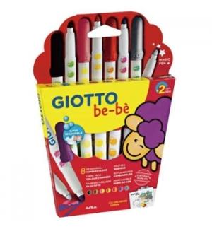Super Marcador Feltro Giotto Be-Be Muda de Cor 8un