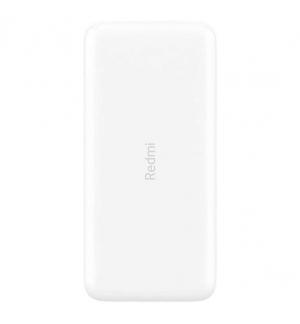 Powerbank Xiaomi Redmi 2 20000mAh 18W Fast Charge Branco