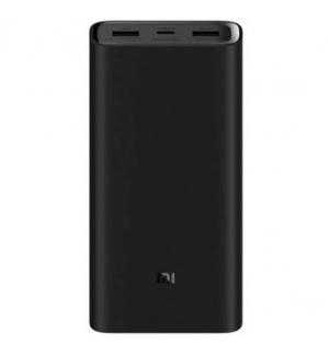 Powerbank Xiaomi Mi 20000mAh 45W 3 Pro Preto