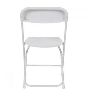 Cadeira Dobrável Plástica Branco