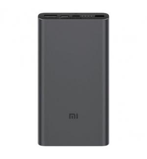 Powerbank Xiaomi Mi 10000mAh 18W Fast Charge 3 Preto