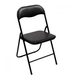 Cadeira Dobrável Preto