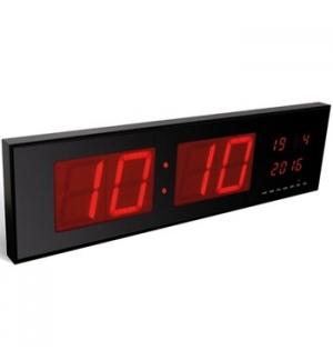 Relógio Parede Display Leds Vermelhos
