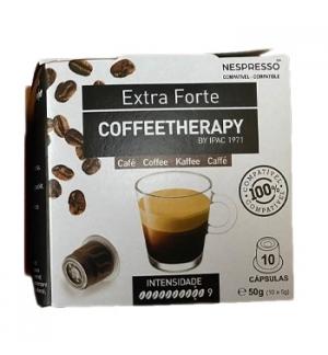 Café Cápsulas CoffeeTherapy p/Nespresso Extra Forte 10un