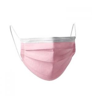 Máscara Descartável Criança 3 Camadas Rosa Cx.30un
