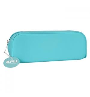 Estojo Silicone Apli Soft Nordic Azul 1un