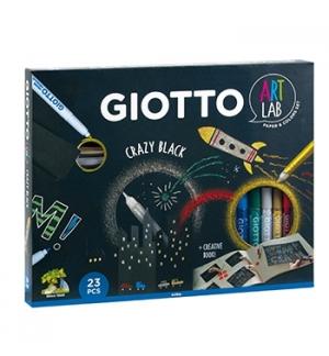 Conjunto Giotto Crazy Black