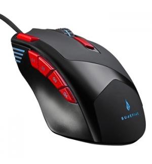 Rato Gaming SUREFIRE Eagle Claw 9-Botões RGB LED