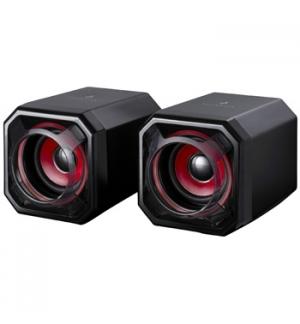Colunas Gaming SUREFIRE Gator Eye 2.0 USB Preto/Vermelho