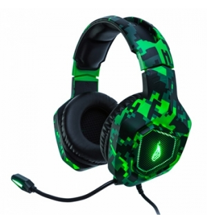 Headphone Gaming SUREFIRE Skirmish JACK 3.5 RGB LED