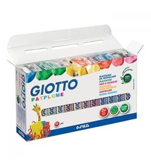 Plasticina Giotto Patplume Conjunto Sortido 12x150gr