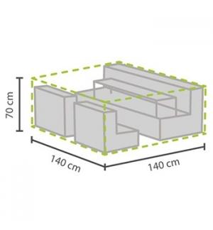 Cobertura de Exterior 140x140x70cm Conjunto Relaxamento - XS