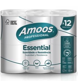 Papel Higienico Domestico 24mts 2Fls 12 Rolos