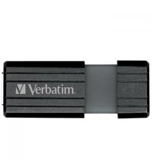 Pen Drive 128GB VERBATIM PINSTRIPE USB 2.0 Preto