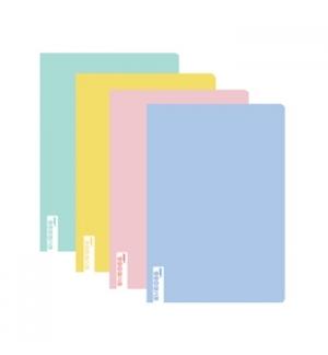 Caderno Agrafado EMBOSS A5 Pautado 90gr 48Fls Cores Pastel