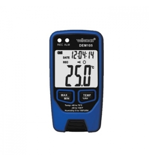 Colector de temperatura e humidade com interface USB