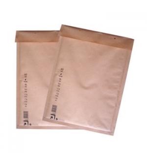 Envelopes Air-Bag Kraft 105x165 N 000 Pack 10un