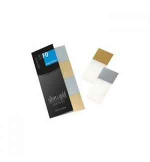 Post-It Index 20x425mm Dourado e Prateado 4x25un