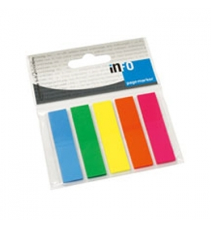 Sinalizadores (Film) PageMarker 5x12x50mm 5 cores 125 Folhas
