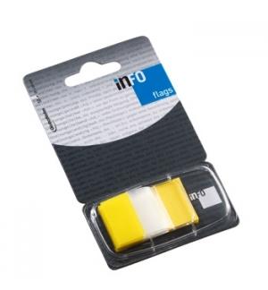 Separador Tape Flags 1 Polegada Amarelo