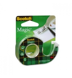 Fita Adesiva 19mmx75m Scotch Magic 1 Rolo
