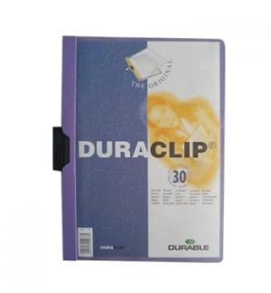 Classificador Clip Lateral Durable 2200 Lilas-1un