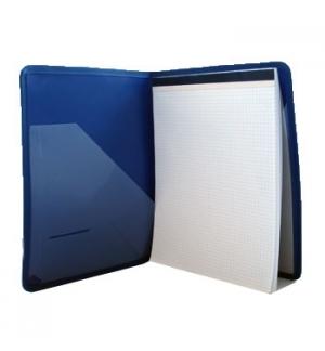 Porta Bloco c/ Bloco e Bolsa Interior Azul