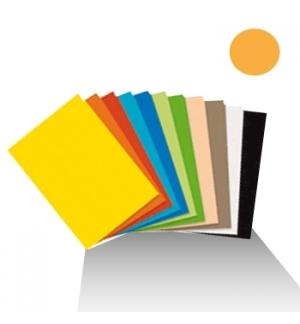 Cartolina 180gr 1 folha 50x65cm Laranja Palido