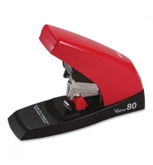 Agrafador Industrial Max Vaimo80 Flat-Clinch Vermelho/Preto