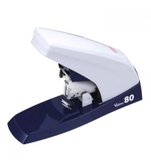 Agrafador Industrial Max Vaimo80 Flat-Clinch Branco/Azul