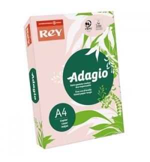 Papel Fotocopia Adagio(cd07) A4 80gr Rosa 1x500Fls
